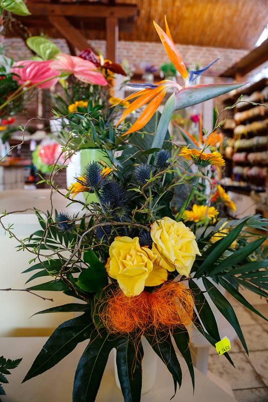 Gartenbau und Floristik Blumen Teipel Dolberg Blumengesteck